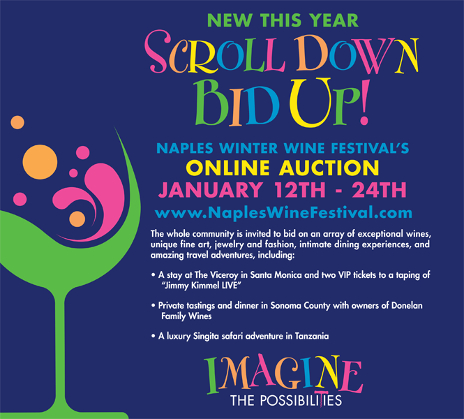 Naples Wine Festival - Online Auction