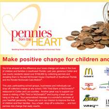 Ronald McDonald House Charities of SW Florida - Pennies from the Heart